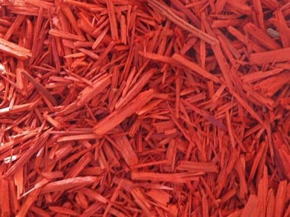 Chips de bois de santal rouge (amérindiennes) ~ Bois De Santal Rouge