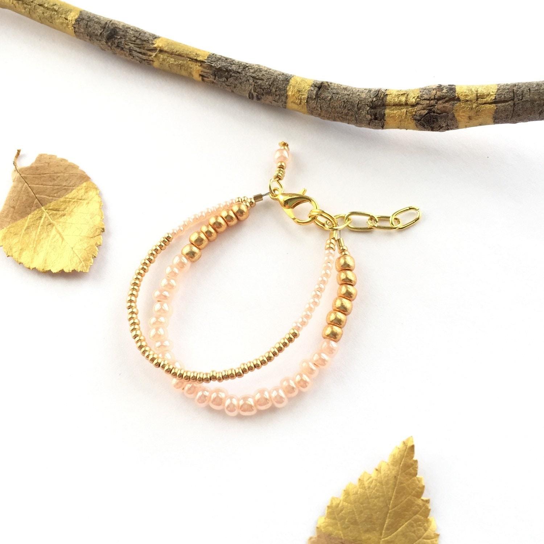 baby stacking bracelet gold baby bracelet gold bracelet