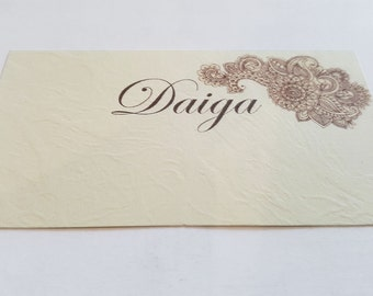 Wedding name cards, place cards, SET of 25 name cards, wedding place cards, name cards, table number cards, wedding table decor, ivory cards