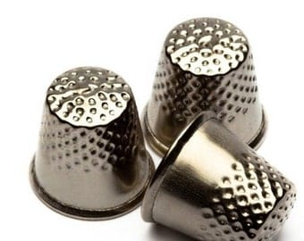 3x Assorted sized THIMBLES