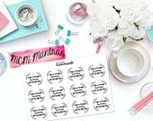"MCM MANTRAS: ""Life is tough, my darling, but so are you."" Paper Planner Stickers!"