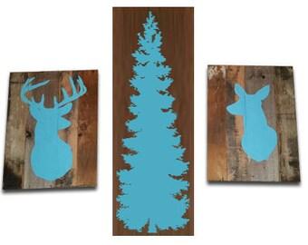 Buck Doe Tree