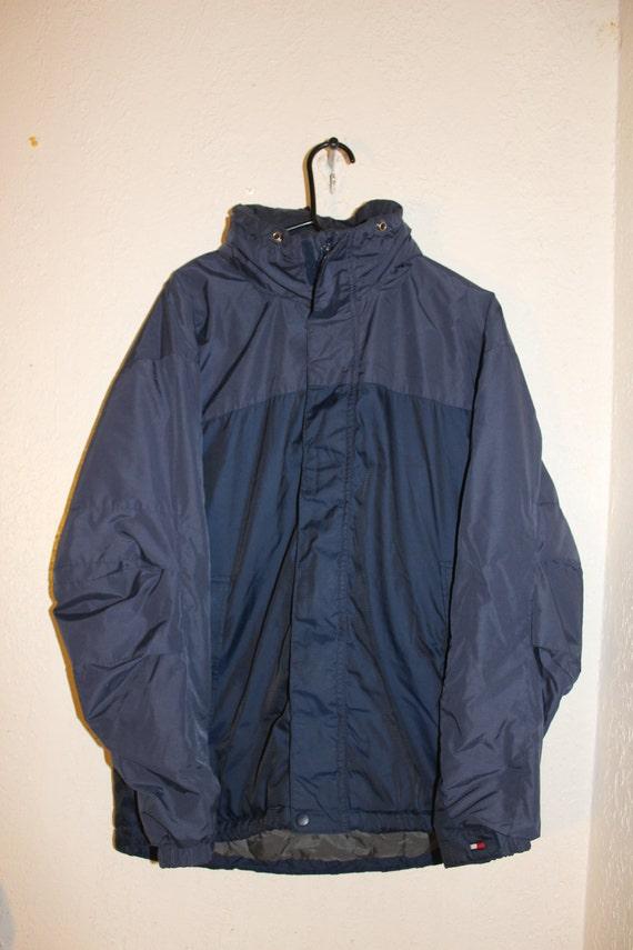 vintage 90 39 s tommy hilfiger jacket size medium by tommy. Black Bedroom Furniture Sets. Home Design Ideas