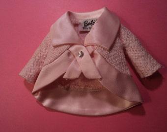 Vintage Mattel Barbie Fashion Luncheon #1656 Pink Jacket