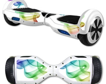 Skin Decal Wrap for Self Balancing Scooter Hoverboard unicycle Smokey Color