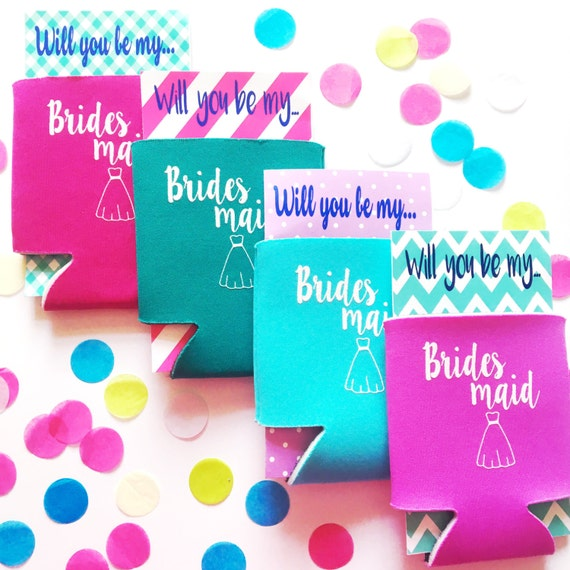 Bridesmaid proposal can cooler