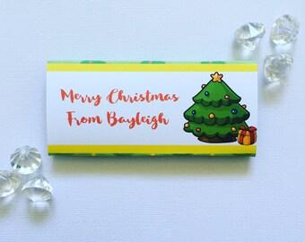 Kawaii Christmas furry friend wrapper