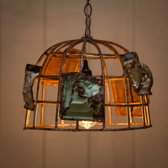 Items similar to Farmhouse Pendant Light Rustic Industrial Chandelier Lighti