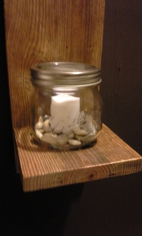 Mason Jar Candle Wall Sconces : Mason Jar Sconce mason jar sconces wall sconce candle mason