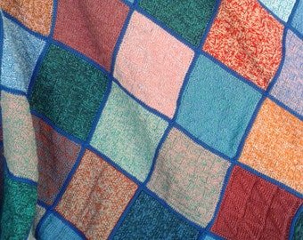 handmade crochet wool blanket new 3 (made to order)