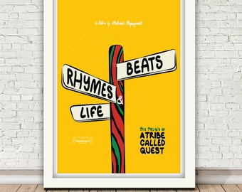 A TRIBE CALLED QUEST - Beats, Rhymes & Life - The Travels of - poster, 2011