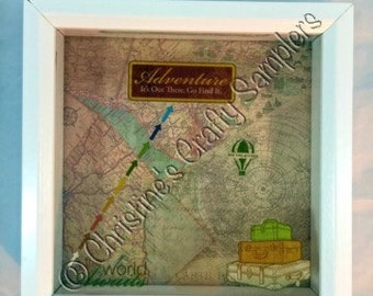 Adventure.  Its out there go find it. Shadow Box bank