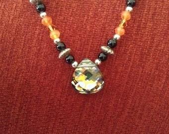 Swarovski Crystal and Sterling Necklace