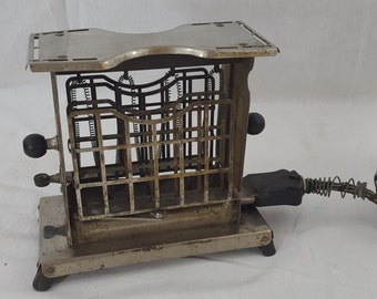 Antique Electrex Rare Swing Door Toaster