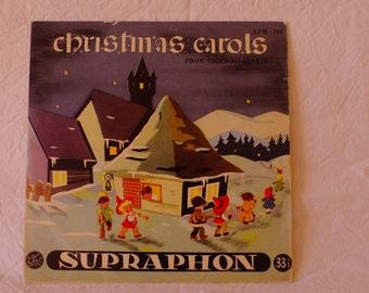 Drive vintage, Christmas carols, vinyl collector, drive for children