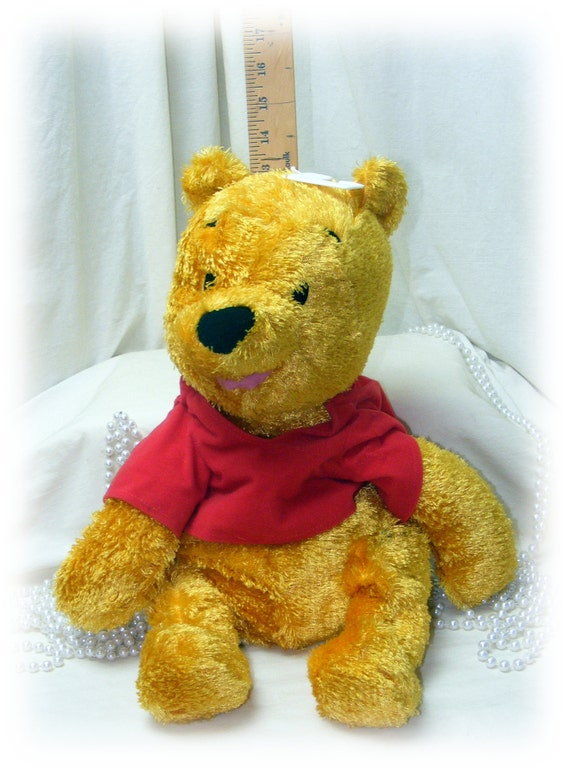 Large POOH BEAR . . . Winnie The Pooh by Fisher Price . . . Marked 50% Off