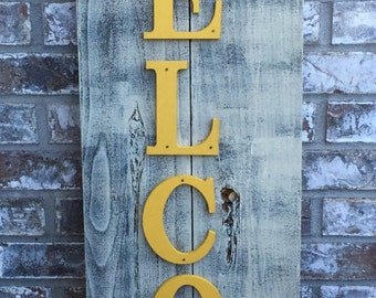 Front Porch Wood Sign, Front Porch Welcome Sign, Rustic Wooden Welcome Sign, Welcome Signs, Outdoor Welcome Signs, Rustic Outdoor Signs