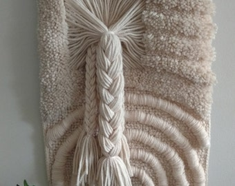 Vintage Braided Wall Hanging