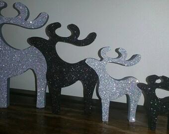 Set 4 reindeers