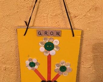 Flower Pot Art