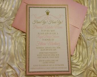 SET OF 15 Hear Ye! Hear Ye! Royal Baby Shower Invitations