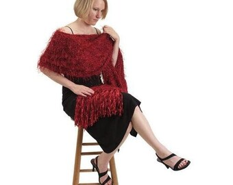Checkerboard Shawl Knitting Pattern Download (803056)