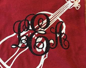 Monogrammed Music Shirt