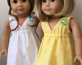 "Salina Sundress for 18"" American Girl Doll"