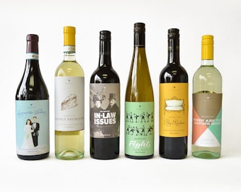 Wine about it - Newlywed's First - wine labels
