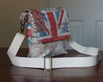 Union Flag Messenger Bag, Union Jack Messenger Bag, Shoulder Bag, Handbag, Bags and purses