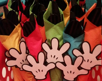Mickey Mouse Clubhouse Utensil Sets! Party Favors!