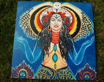 Kali &Star Nations-tapestry print