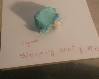 L37  Sleeping Beauty turquoise rough