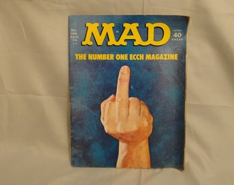 Mad Magazine #166 April 1974 The Number One ECCH Magazine