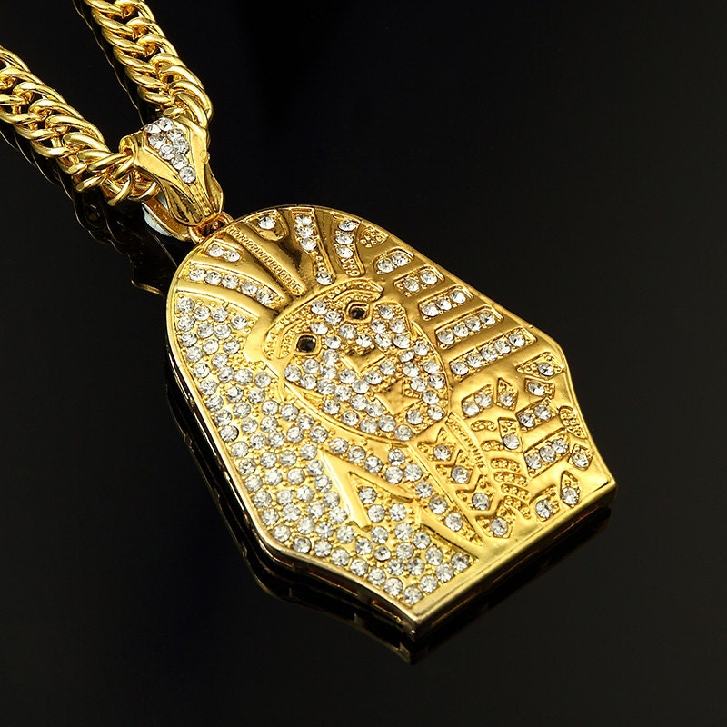 Silver Gold Filled Egypt Pharaoh/Last King Necklaces Pendants