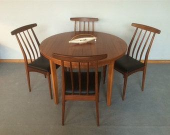 Teak spirit table Scandinavian years 60 mid century retro vintage
