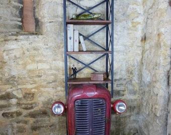 Tractor Bookshelf
