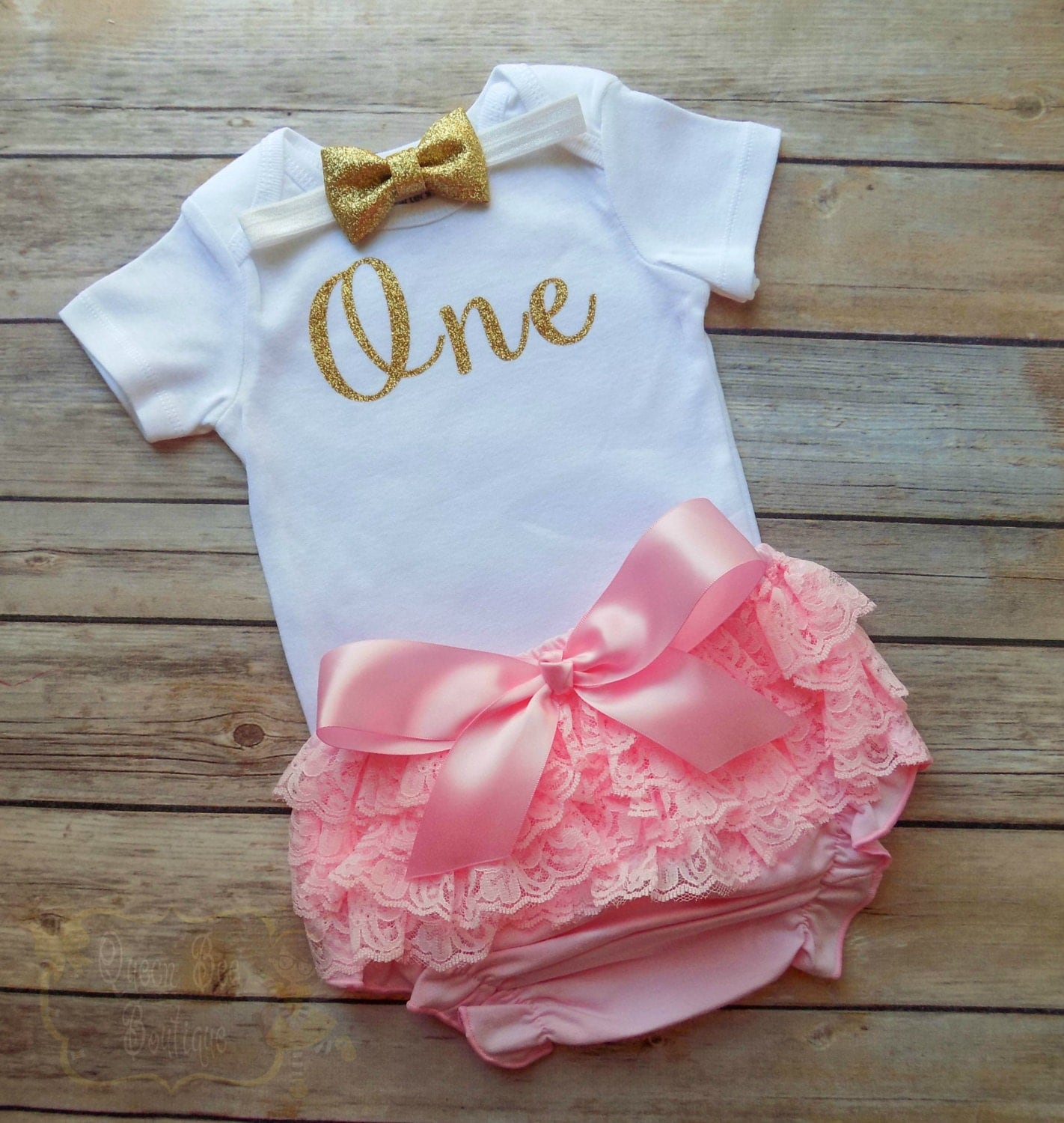 Baby Girl First Birthday Outfit Girls First By