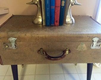 Vintage Suitcase End/Coffee Table