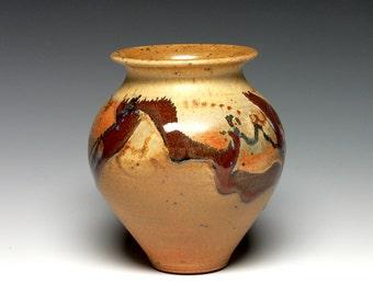 Hand Thrown Vase, Pottery Vase, Ceramic Vase, Stoneware Vase
