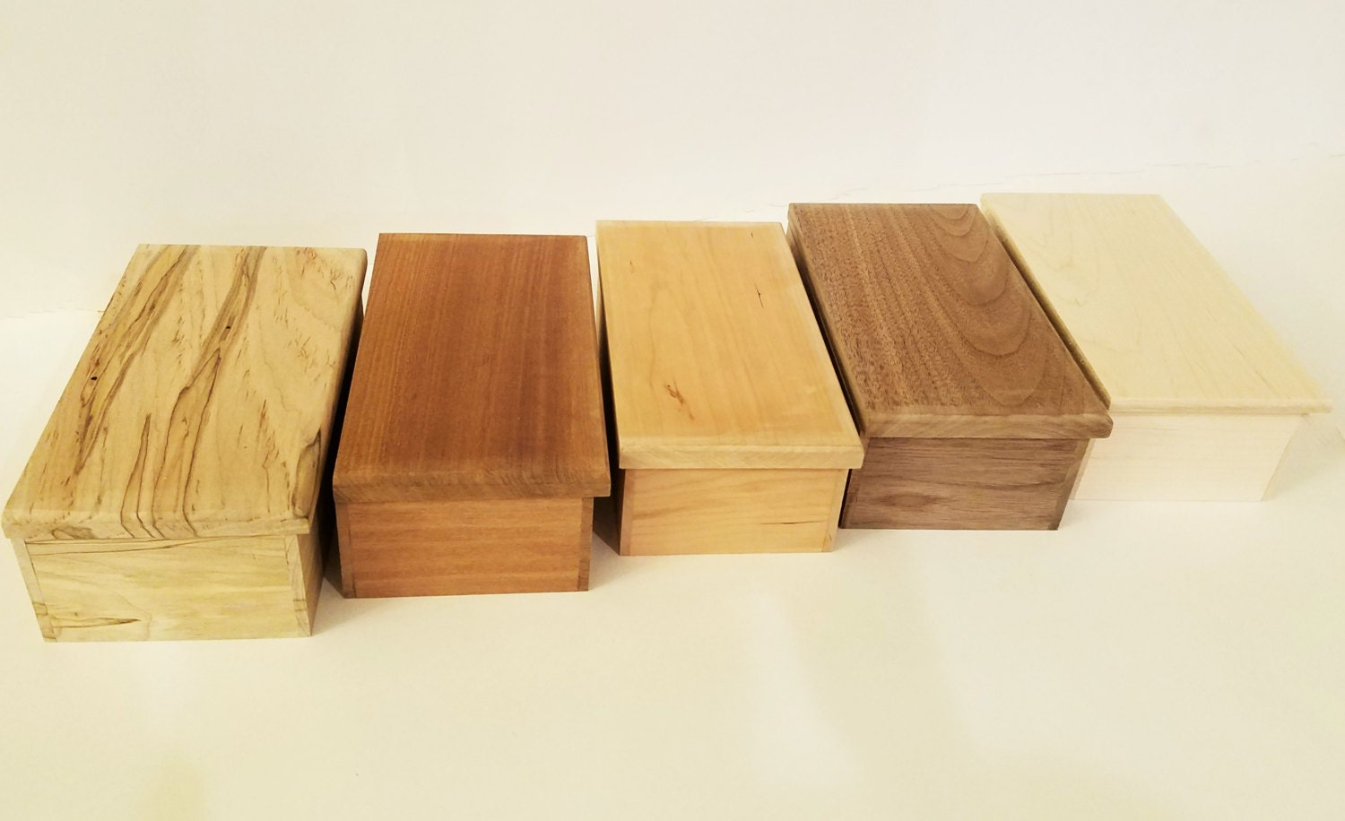 Unfinished wood craft boxes -  24 96