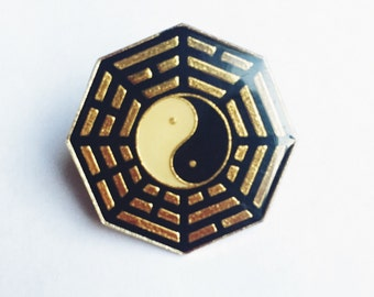 Elements ying yang pin