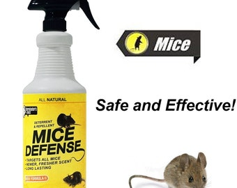 Mice Repellent / Deterrent 32oz, with pure peppermint oil
