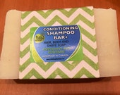 Natural Hair Conditioning Shampoo PLUS Bar - great for travel