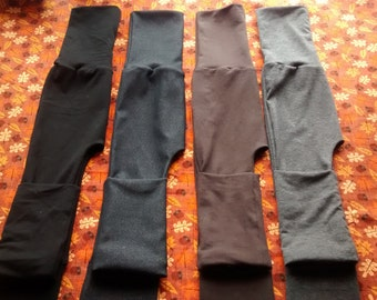 Maxaloones pants grow pants No bum circle (faux denim, black, brown, two toned charcoal grey) size 1 , size 2 , miniloones ,squishloones