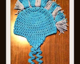 Little Boy's Mohawk Hat from GeekNSweet