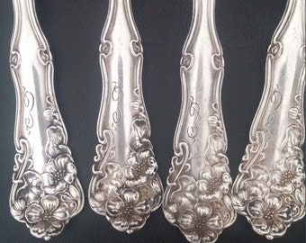 1904 Rogers Silverplate Spoons (for spoon rings)