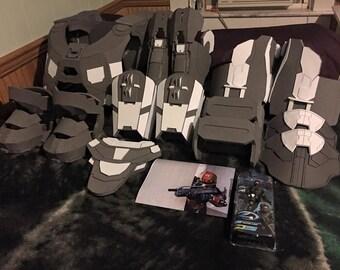 handmade halo 4 mark vivii master chief videogame eva foam armor - Halo Reach Halloween Costume