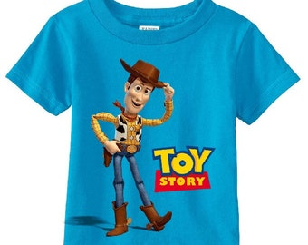 Woody Toy Story Custom t-shirt (Different Colors)