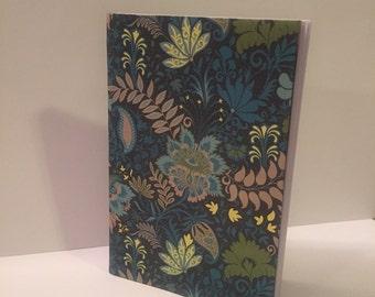 Blue Floral Journal